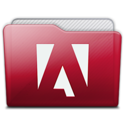 256x256px size png icon of folder adobe