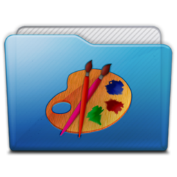 256x256px size png icon of folder art