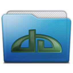 256x256px size png icon of folder deviations
