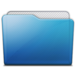 256x256px size png icon of folder generic