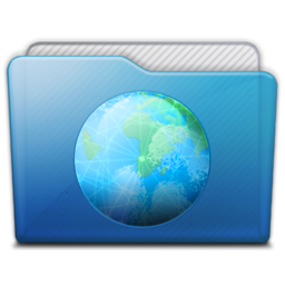 256x256px size png icon of folder sites