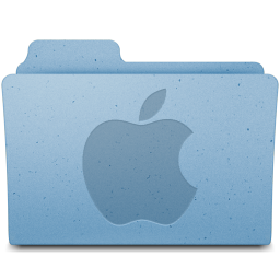 256x256px size png icon of Apple Logo