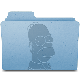 256x256px size png icon of Homer