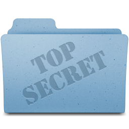 256x256px size png icon of Top Secret
