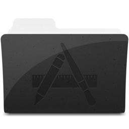 256x256px size png icon of ApplicationsFolderIcon