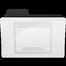 256x256px size png icon of DesktopFolderIcon Y