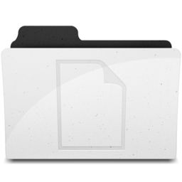 256x256px size png icon of DocumentsFolderIcon Y