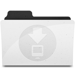 256x256px size png icon of DownloadsFolder Y