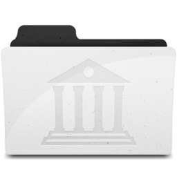 256x256px size png icon of LibraryFolderIcon Y
