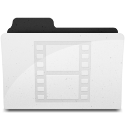 256x256px size png icon of MovieFolderIcon Y