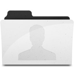 256x256px size png icon of UsersFolderIcon Y