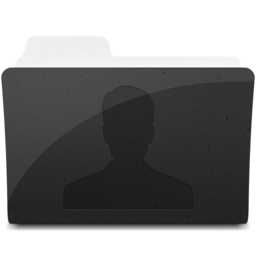 256x256px size png icon of UsersFolderIcon