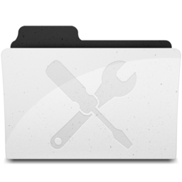 256x256px size png icon of UtilitiesFolder Y