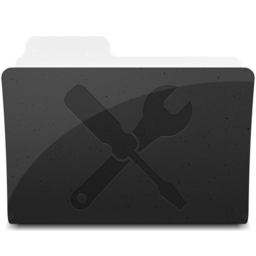 256x256px size png icon of UtilitiesFolder