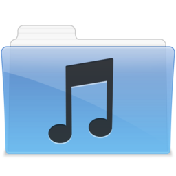 256x256px size png icon of AQUA Music 1