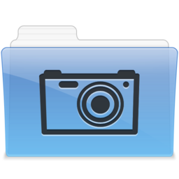 256x256px size png icon of AQUA Pictures 1
