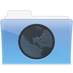 256x256px size png icon of AQUA Sites 1