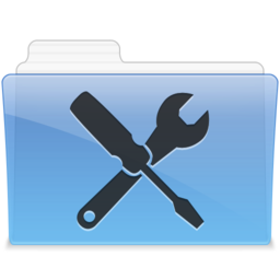 256x256px size png icon of AQUA Utilities 1