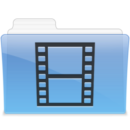 256x256px size png icon of AQUA Videos 1