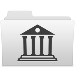 256x256px size png icon of Library 1