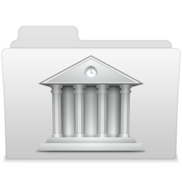 256x256px size png icon of Library 2