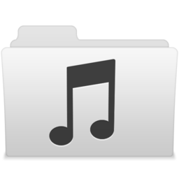 256x256px size png icon of Music 1