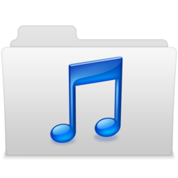 256x256px size png icon of Music 2