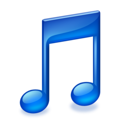 256x256px size png icon of ToolbarMusicFolderIcon