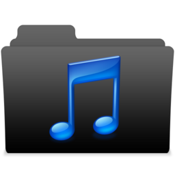 256x256px size png icon of black leopard milk music 2