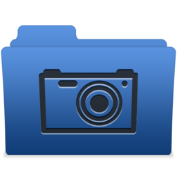 256x256px size png icon of smooth navy blue pictures 1
