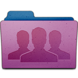 256x256px size png icon of group
