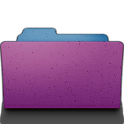 256x256px size png icon of open folder