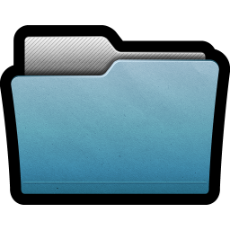 256x256px size png icon of Folder Alternate