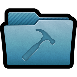 256x256px size png icon of Folder Developer