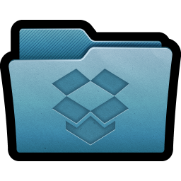 256x256px size png icon of Folder Dropbox