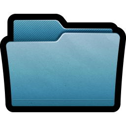 256x256px size png icon of Folder Mac