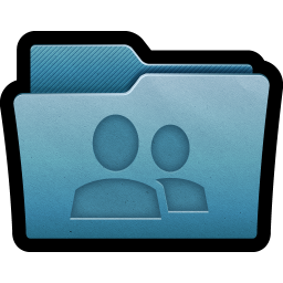 256x256px size png icon of Folder Share