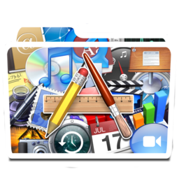 256x256px size png icon of White Apps Alt