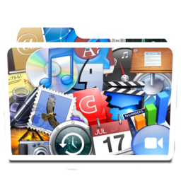 256x256px size png icon of White Apps