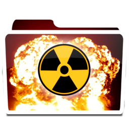 256x256px size png icon of White Burn