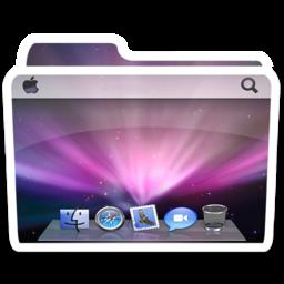 256x256px size png icon of White Desktop Alt