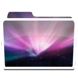 256x256px size png icon of White Desktop