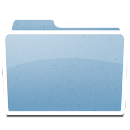 256x256px size png icon of White Generic
