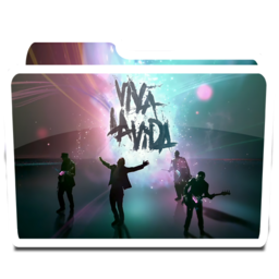256x256px size png icon of White Music iPod Coldplay