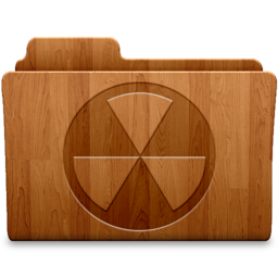256x256px size png icon of Burn Wood