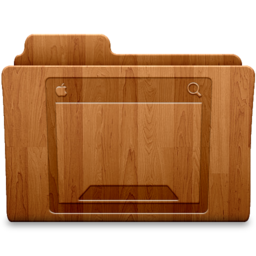 256x256px size png icon of Desktop Wood