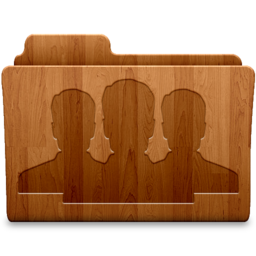 256x256px size png icon of Group Wood