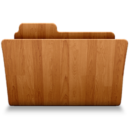 256x256px size png icon of Open Wood