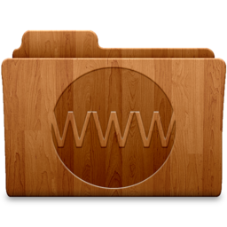 256x256px size png icon of Sites Wood