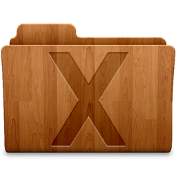 256x256px size png icon of System Wood
